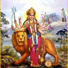 Durgā Aarathi - Jai Ambe Gaurī